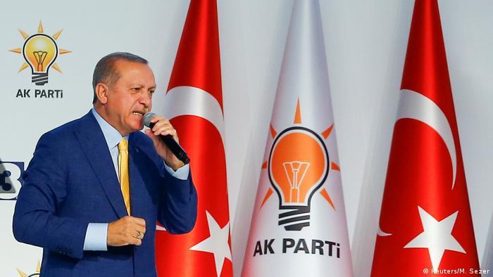 Türkei Parteitag AKP in Ankara Erdogan (Reuters/M. Sezer)