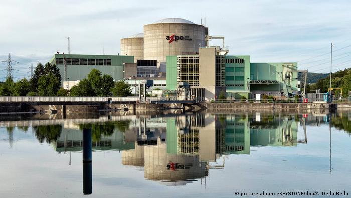 Referendum - Schweizer Atomkraftwerk Beznau