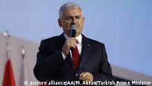 Türkei - AKP-Parteitag - Premierminister Binali Yildirim