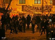 Ταραχές το Δεκέμβριο του 2008 στην Αθήνα