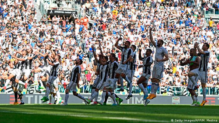 Italien Juventus Turin vorzeitig italienischer Meister (Getty Images/AFP/M. Medina)