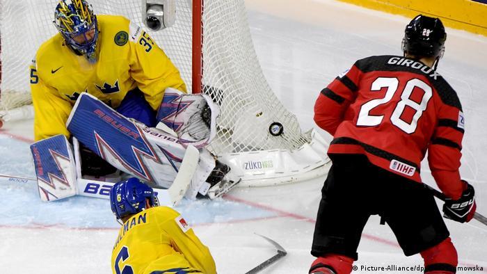 Eishockey-WM: Kanada - Schweden