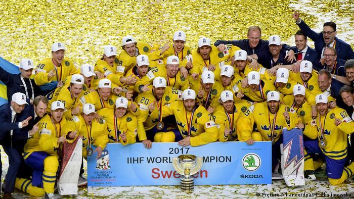 Eishockey-WM: Kanada - Schweden (Picture-Alliance/dpa/M. Skolimowska)