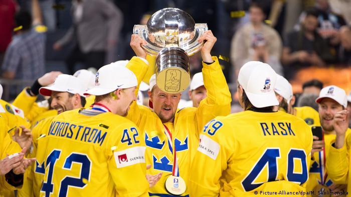 Eishockey WM: Kanada - Schweden (Picture-Alliance/dpa/M. Skolimowska)