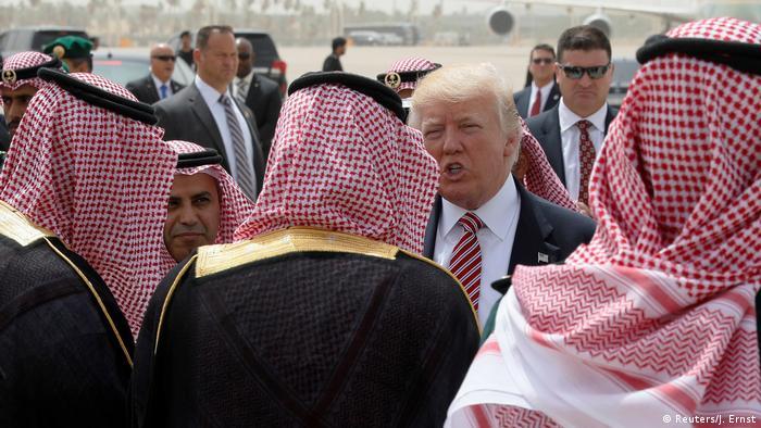 Saudi-Arabien Abflug Trump nach Israel