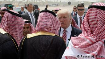 Saudi-Arabien Abflug Trump nach Israel (Reuters/J. Ernst)