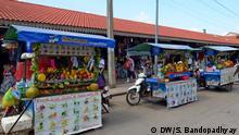 Kambodscha Siem Reap - Weibliche Arbeitskräfte