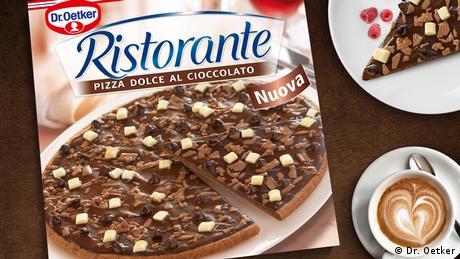 Foodtrends - Dr. Oetker Schokoladen Pizza (Dr. Oetker)