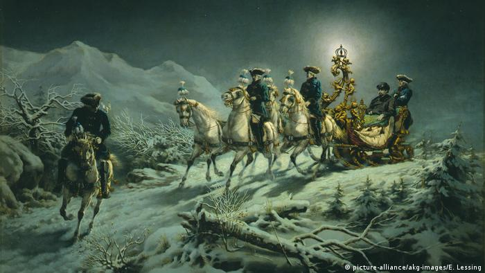 Картина Рудольфа Венига (Rudolf Wenig), 1880 год