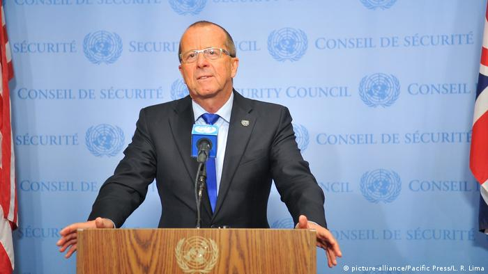 US: Presse Konferenz mit Martin Kobler (picture-alliance/Pacific Press/L. R. Lima)
