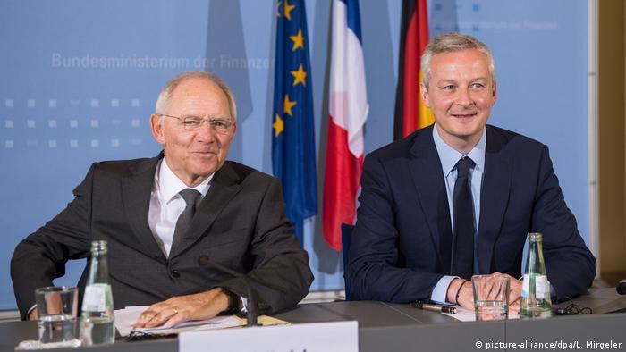Deutschland Treffen Schäuble und Le Maire (picture-alliance/dpa/L. Mirgeler)