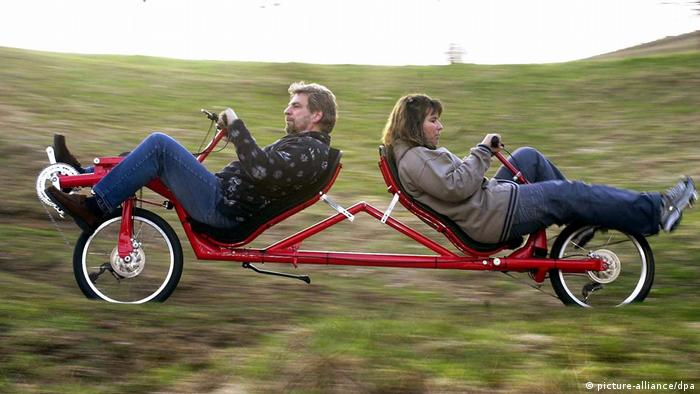 Recumbent tandem (picture-alliance/dpa)