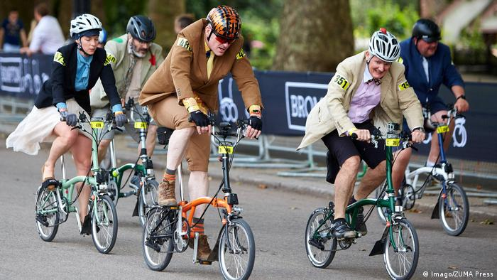 Brompton World Championship in London (Imago/ZUMA Press)