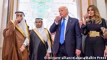 Saudi Arabien - Präsident Trump zu Besuch (picture-alliance/abaca/Balkis Press)