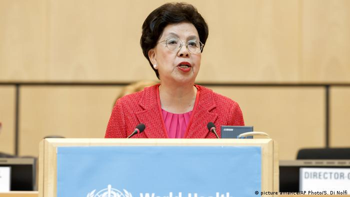 Die Generaldirektorin der Weltgesundheitsorganisation (WHO), Margaret Chan (picture alliance/AP Photo/S. Di Nolfi)