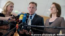 Manuela Schwesig (left), Thomas Oppermann and Katarina Barley drafted the election platform together