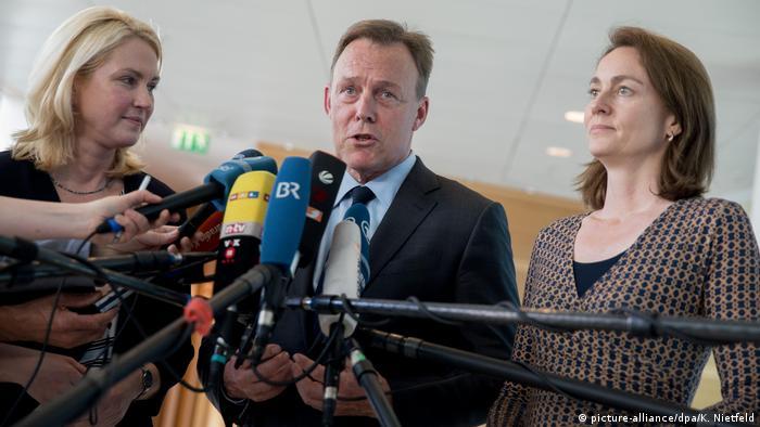 SPD stellt Wahlprogramm vor (picture-alliance/dpa/K. Nietfeld)