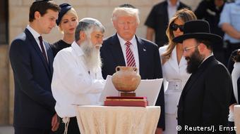 Israel US-Präsident Donald Trump Besuch der Klagemauer in Jerusalem