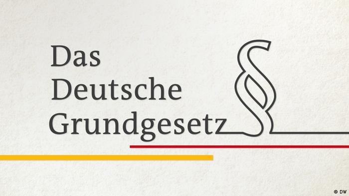 Screenshot Video DW Das Deutsche Grundgesetz