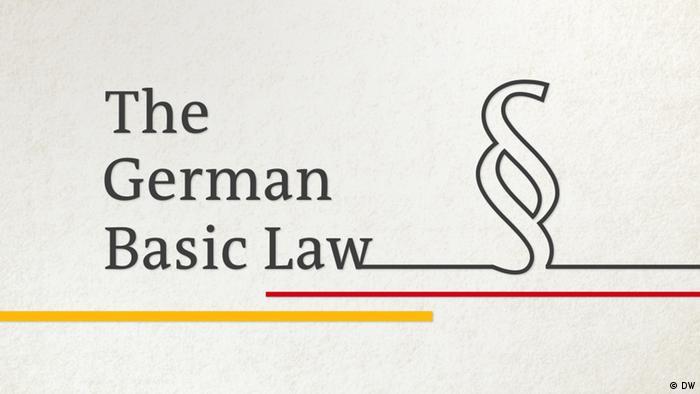 Das deutsche Grundgesetz Englisch