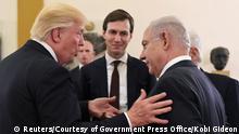Israel Donald Trump & Benjamin Netanjahu
