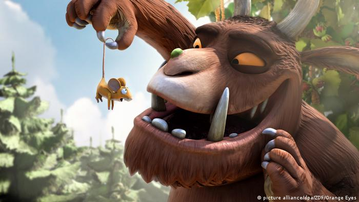 Scene from the film The Gruffalo (Photo: picture alliance/dpa/ZDF/Orange Eyes)