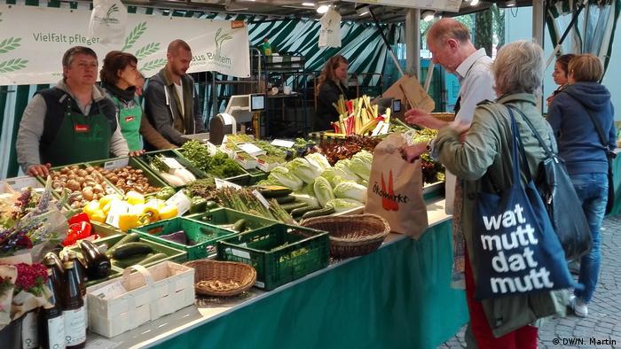 Deutschland Bauern- und Wochenmarkt in Köln