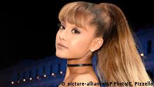 USA Schauspielerin und Sängerin Ariana Grande in New York (picture-alliance/AP Photo/C. Pizzello)