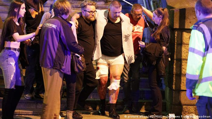 Großbritannien Polizeieinsatz in Manchester (picture-alliance/ZUMA/London News Pictures/J. Goodman)