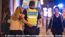 Großbritannien Polizeieinsatz in Manchester