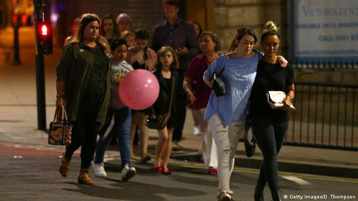 Großbritannien Anschlag in Manchester (Getty Images/D. Thompson)