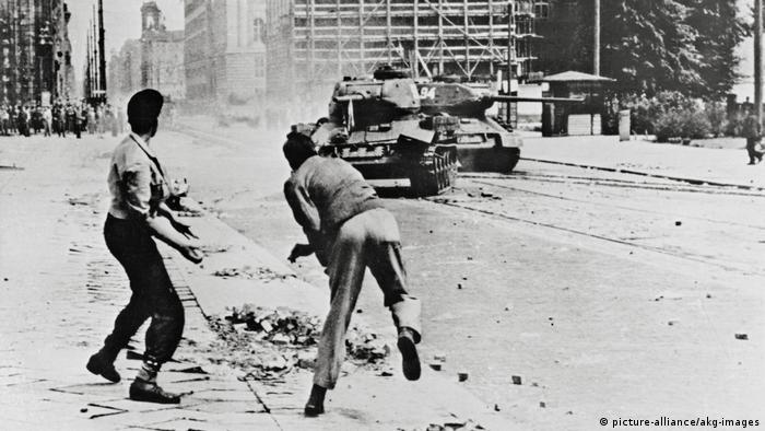 Восточный Берлин, 17 июня 1953 года