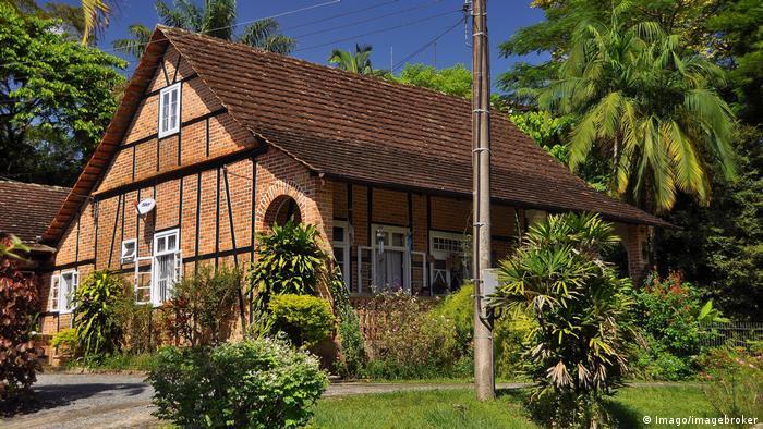 Casa de arquitetura alemã em Pomerode