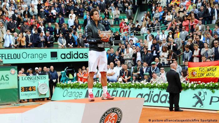 Frankreich Tennis French Open 2012 Rafael Nadal FC Bayern Mvºnchen - FC Chelsea (picture-alliance/augenklick/firo Sportphoto)