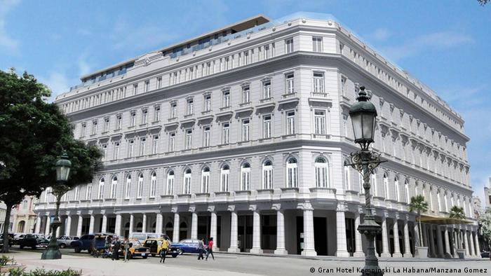 Kuba Luxushotel Gran Hotel Kempinski La Habana (Gran Hotel Kempinski La Habana/Manzana Gomez)
