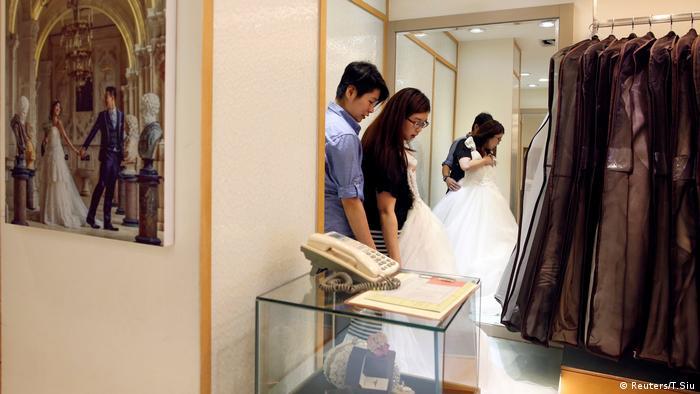 Taiwan gleichgeschlechtliche Eheschließung (Reuters/T.Siu)