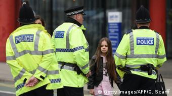 Αστυνομικές αρχές στο Μάντσεστερ