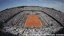 Tennis French Open Roland Garros Stadium in Paris