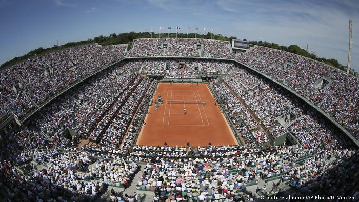 Tennis French Open Roland Garros Stadium in Paris (picture-alliance/AP Photo/D. Vincent)