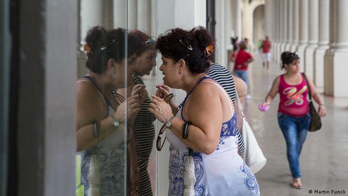Kuba Neue Luxusmall in Havanna