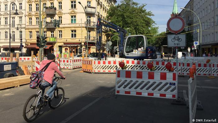 Berlin Blog - Radfahren in der Hauptstadt (DW/K.Esterluß)