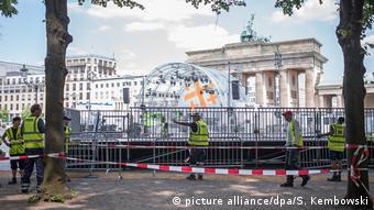 Preparativos para el Congreso en Berlín.