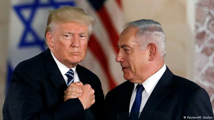 Donald Trump and Benjamin Nethanyahu (Reuters/R. Zvulun)