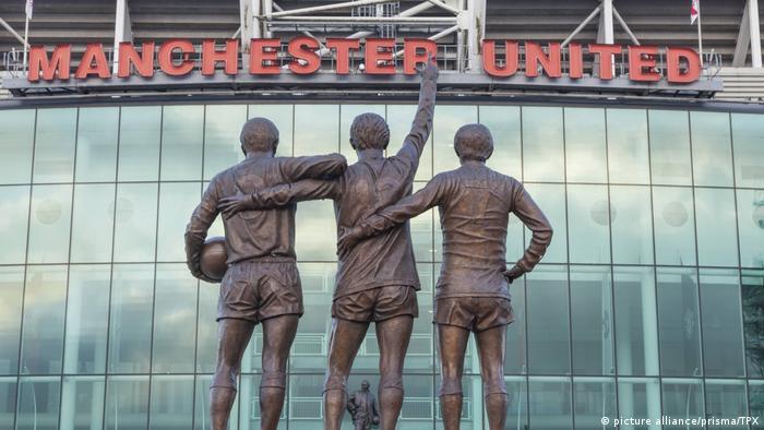UK Bildergalerie Manchester Sehenswürdigkeiten   Old Trafford Fussball-Stadion (picture alliance/prisma/TPX)