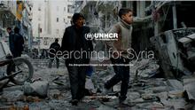 Screenshot UNHCR Searching for Syria
