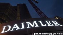 Deutschland Duchsuchungen bei Daimler Konzenzentrale in Stuttgart