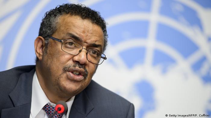 Tedros Adhanom Ghebreyesus Außenminister Äthiopien