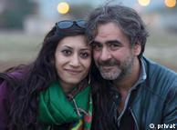 Деніз Юджель зі своєю дружиною Ділек