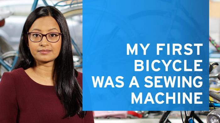 DW Debarati | My first bicycle was a sewing machine (DW)