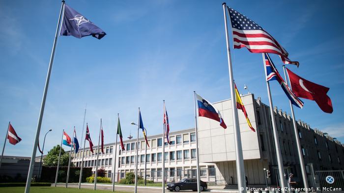 Belgien Gebäude des Hauptquartiers der NATO (Picture alliance/Zumapress/J. K. McCann)